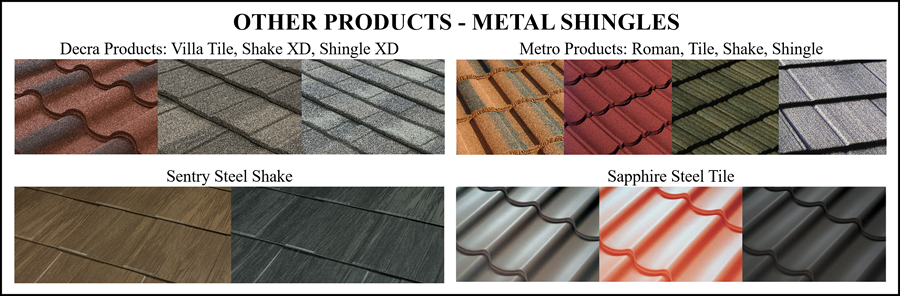 Metal Shingle Types